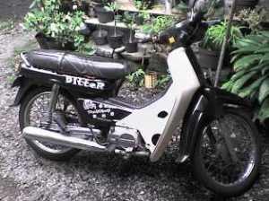 ini dia motorku...