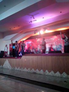Penampilan Jogja Hip Hop Foundation.