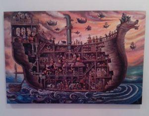 """""""Bahtera Kaum Urban"""", karya Michael Maxon"""