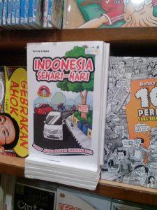 Penampakan buku Indonesia Sehari-hari di Gramedia Ambarukmo Plaza (Amplaz).